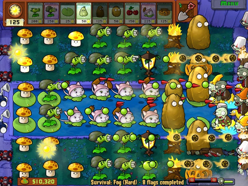 Illustration for article titled Plants vs Zombies Micro-Review: The Seeds Of Success