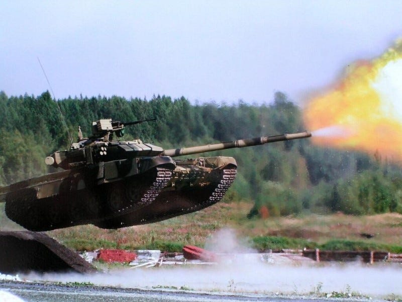 Illustration for article titled What America Can Learn From Russia's Cheap But Deadly T90 Tank