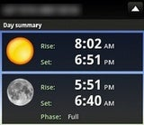 Illustration for article titled Check Sunrise and Sunset Times on Your Android Phone with Sundroid