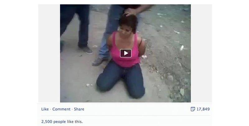 Facebook permite de nuevo publicar vídeos de decapitaciones