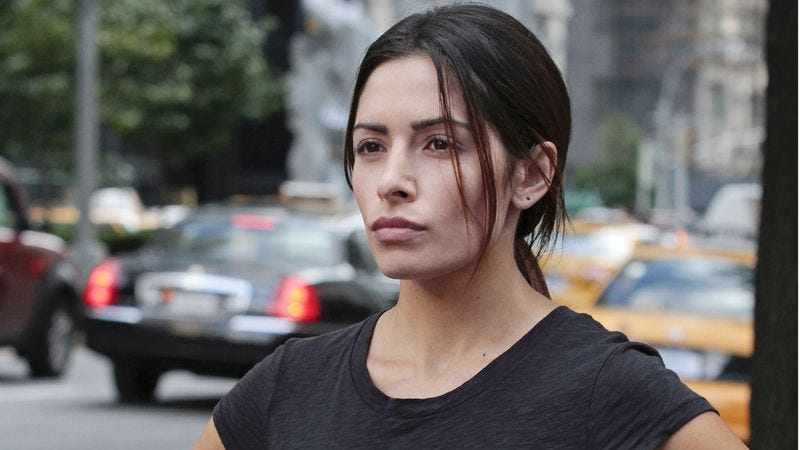 Drew star Sarah Shahi (seen here on Person Of Interest)