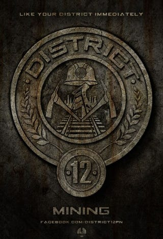 Illustration for article titled Hunger Games District Posters