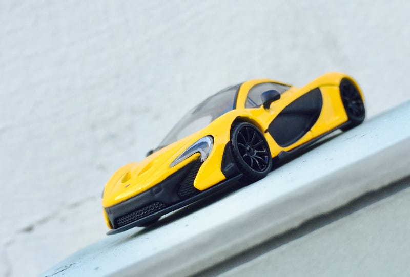 Illustration for article titled McLaren Monday - And it was all, yellow...
