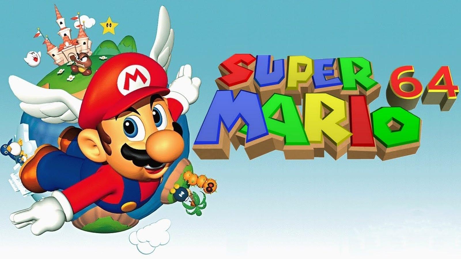 """""""Oh my god"""": Así se presentó Super Mario 64 en el E3 de 1996"""