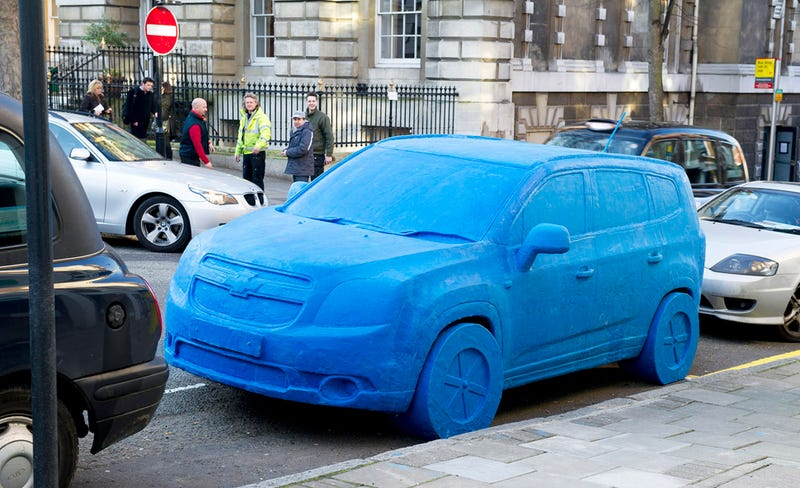 Illustration for article titled Play-Doh Car Weighs Almost as Much as the Real Thing