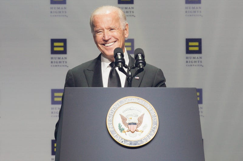 Illustration for article titled Hillary Clinton and Joe Biden Both Gave Pro Transgender Rights Speeches This Weekend