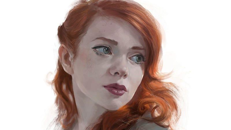 Illustration for article titled Sad Face, Great Art
