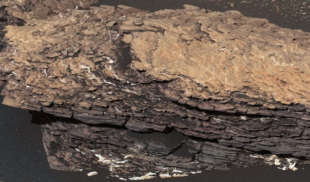 NASA's Curiosity Rover Stumbles Upon a Strangely Complicated Martian Rock