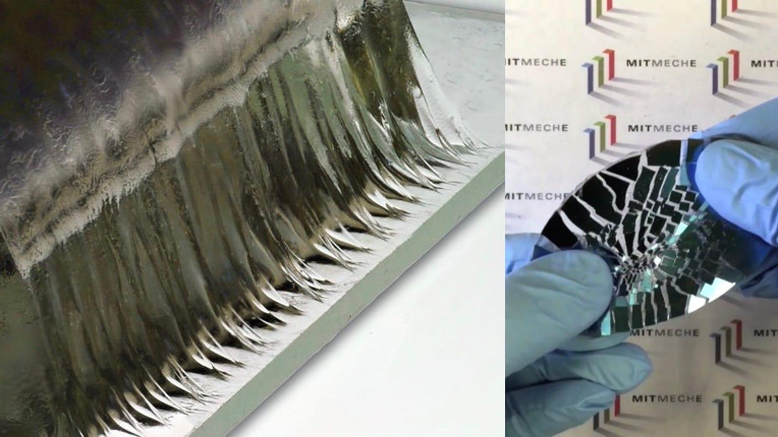 El último invento del MIT: un pegamento tan fuerte como el cartílago que es 90% agua
