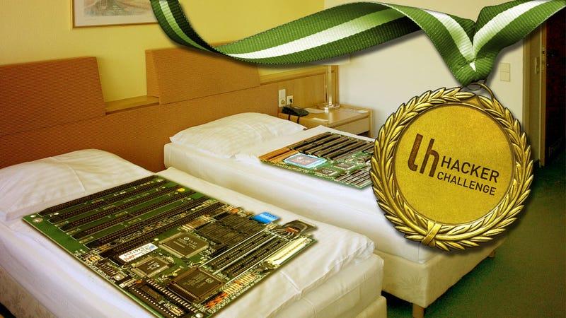Illustration for article titled Hacker Challenge: Hack Your Hotel Room