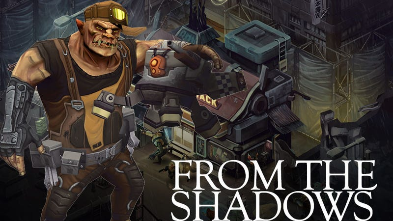 Illustration for article titled A First Look at the Characters and Cityscapes of Shadowrun Returns