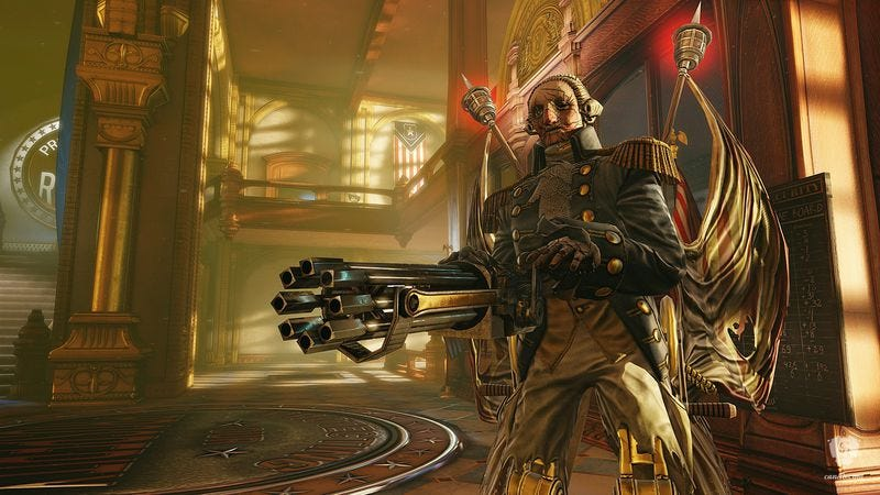 BioShock Infinite, a game that isn't afraid to get at the real General Washington