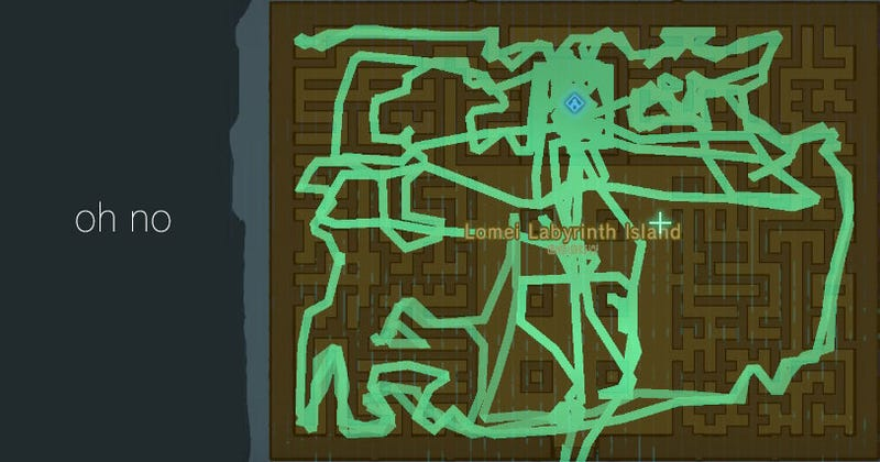 Illustration for article titled Zelda's Labyrinths Are Some Bullshit