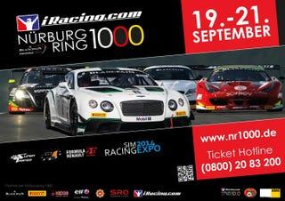 Illustration for article titled iRacing Sponsors Blanpain Endurance Series Nurburgring 1000