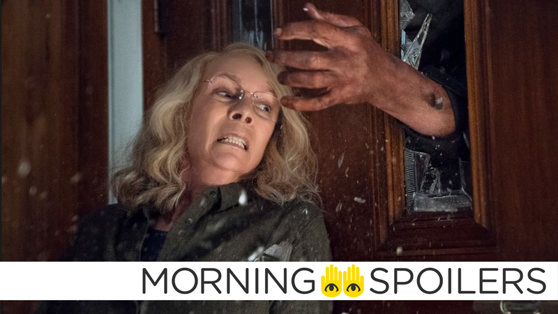 Laurie has a familiar uninvited guest in the newest Halloween movie.