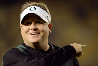 Illustration for article titled Oregon Football Boosters Are Mad That Chip Kelly Doesn't Hang Out With Them