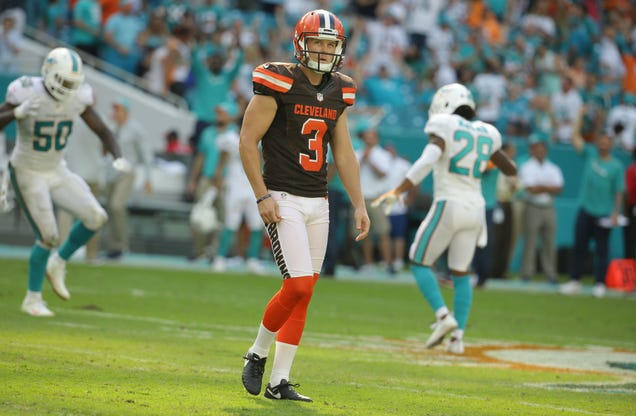 How Deep Does The Browns' Kicking Disaster Go?
