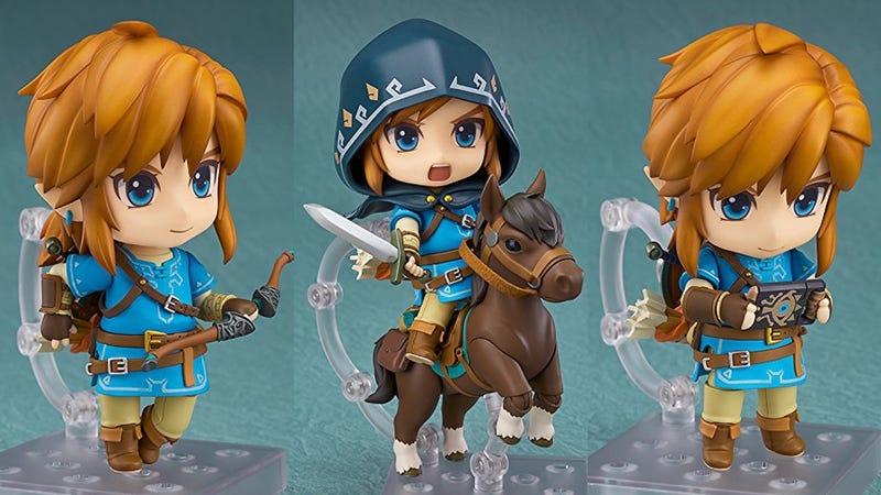 Good Smile Legend of Zelda Breath of the Wild Figurine With Horse | $44 | AmazonGood Smile Legend of Zelda Breath of the Wild Figurine Without Horse | $31 | Amazon