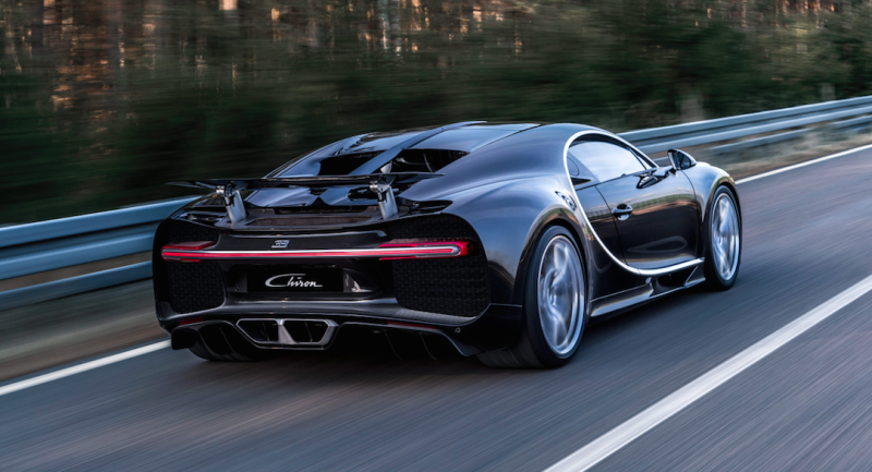 Las increíbles tecnologías que hacen al Bugatti Chiron el coche más potente del mundo
