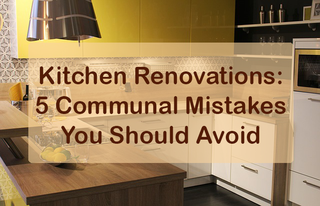 Illustration for article titled Kitchen Renovations: 5 Communal Mistakes You Should Avoid