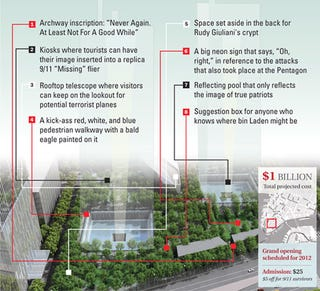 Illustration for article titled Plans For 9/11 Museum Revealed