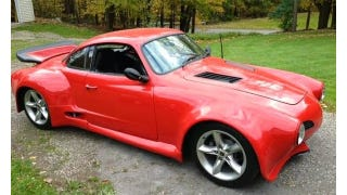 Illustration for article titled This V8 Powered Ghia Looks Like A 911 Turbo Stung By Bees