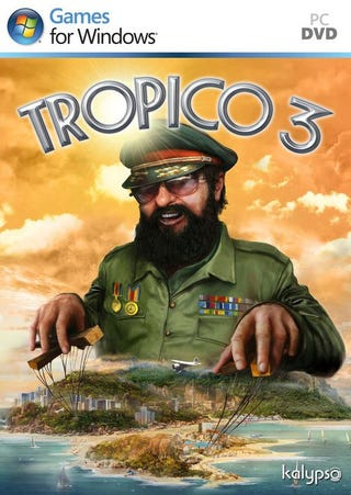 Illustration for article titled Tropico 3 Box Art Is So Despotic It's Adorable