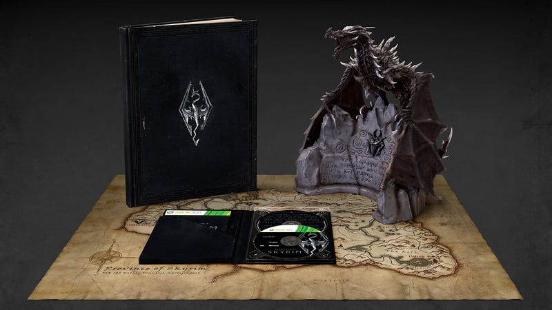 Illustration for article titled The Lavish Skyrim Collector's Edition Costs Much More Than $29