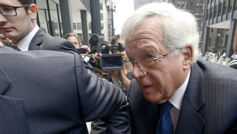 Illustration for article titled Ex-House Speaker Dennis Hastert to Plead Guilty to Charges He Paid Hush Money to Sex Abuse Victim