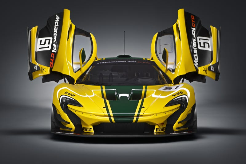 Illustration for article titled The Track-Only McLaren P1 GTR Is Your 986 HP Piece Of  Perfection