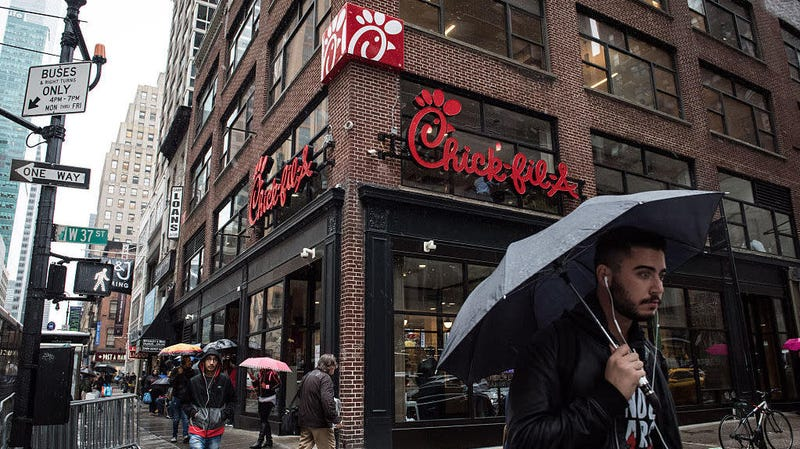 Illustration for article titled Average Chick-fil-A makes twice as much in sales as a McDonald's