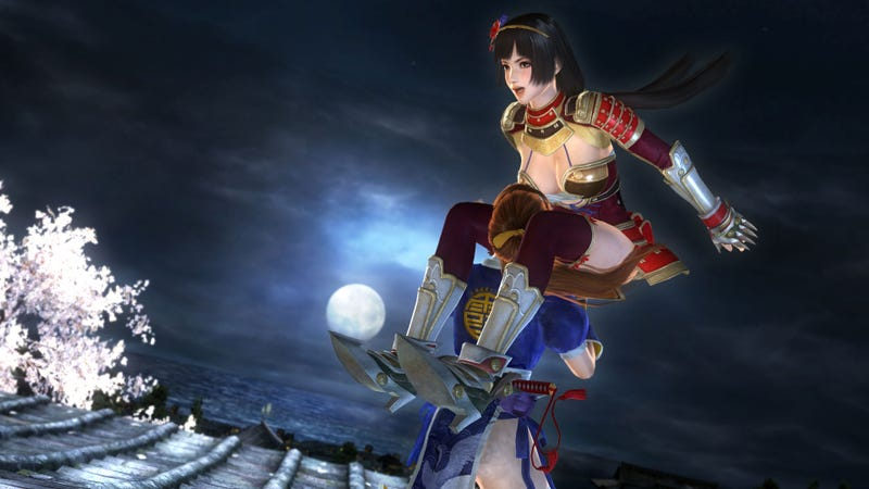 Illustration for article titled Dead Or Alive 5's Newest Fighter Is A Respected Japanese Historical Figure