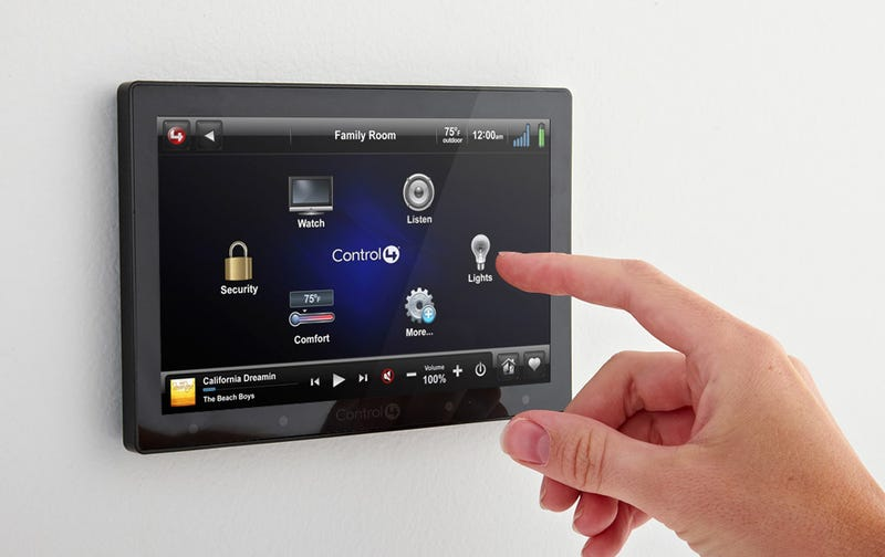 Illustration for article titled Control4 Brings Low-Priced Touchscreen Home Automation For Your Walls