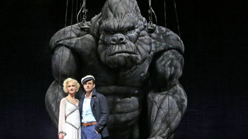 Illustration for article titled King Kong coming to Broadway, from producers who apparently never saw King Kong