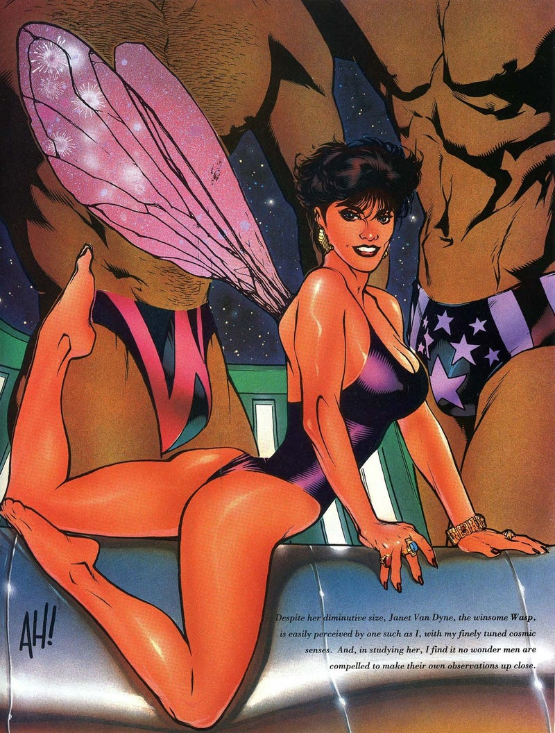 Illustration for article titled The non-stop erotic thrills of the 1990s Marvel Swimsuit Specials