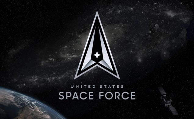 Space Force Unveils New Logo, Promises to Be  Always Above