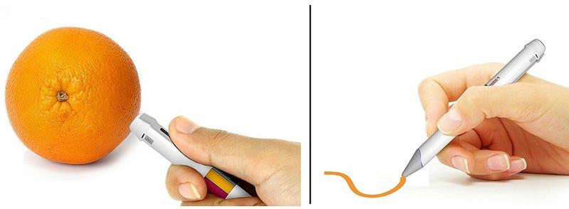 Este bolígrafo escribe en cualquier color que vean tus ojos