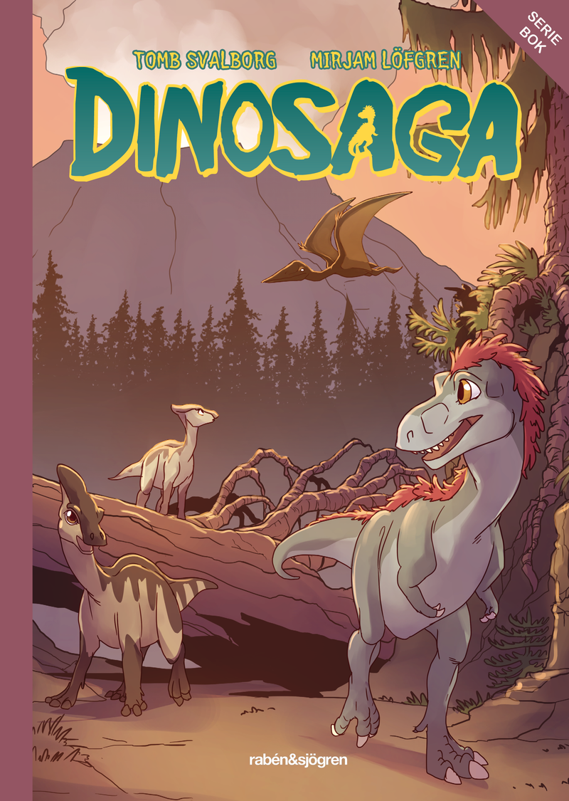 Illustration for article titled The Cover for Dinosaga