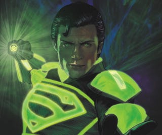 Illustration for article titled What Is Smallvile's Clark Kent Doing With A Green Lantern Ring?