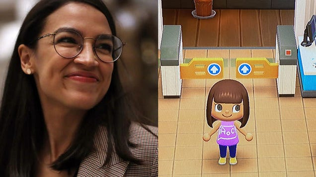 Alexandria Ocasio-Cortez Is Visiting Random Animal Crossing Islands