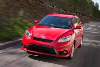 Illustration for article titled Toyota unveils 2011 Matrix to raucous indifference