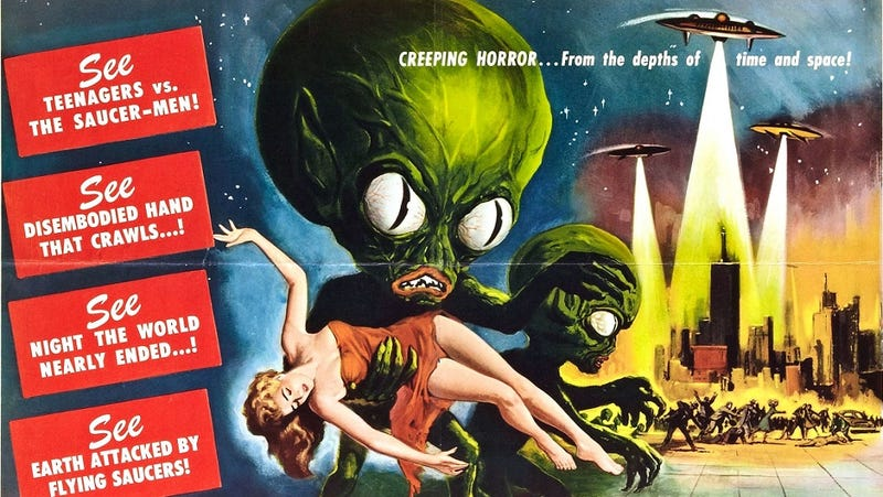 Illustration for article titled Why would aliens come all this way just to invade Earth?
