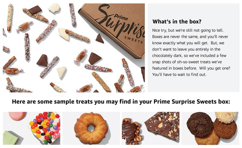 Caja sorpresa de dulces | $14 | Amazon