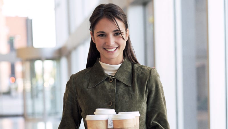 Illustration for article titled Fox News Intern Fetching Coffee Tells Herself This Will All Pay Off When She Trump's Secretary Of State One Day
