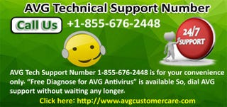 Illustration for article titled Dial AVG   Technical Support Number 1-855-676-2448