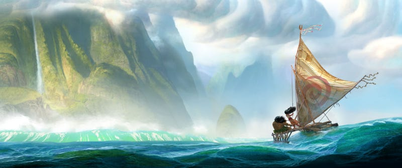 Illustration for article titled Thank Goodness We're Getting Disney's Lovely Moana Sooner Than Expected