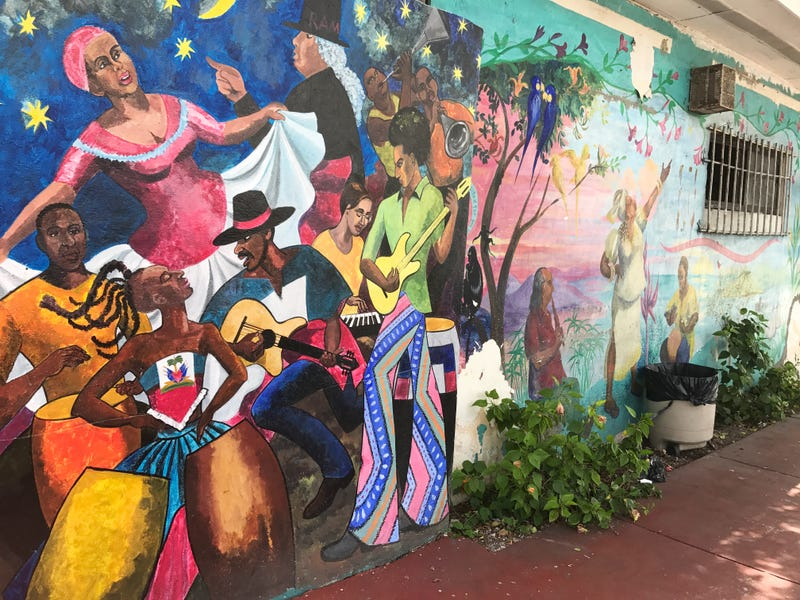A mural in Liberty City in Miami (Ashley Velez/The Root)