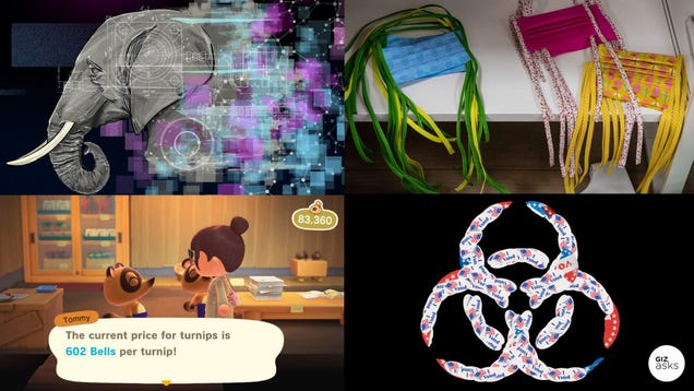 Location Tracking, DIY Face Masks, and the Stalk Market: Best Gizmodo Stories of the Week