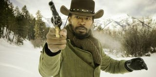 Django (Jamie Foxx) in Django Unchained (Weinstein Co./Dimension Films)