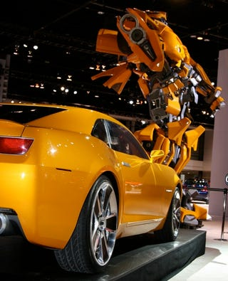 Cleaning Out Our Memory Cards This Morning We Realized Hadn T Run Anything On The Rest Of Chevy Autobots Unveiled In Chicago Ay For Me Right